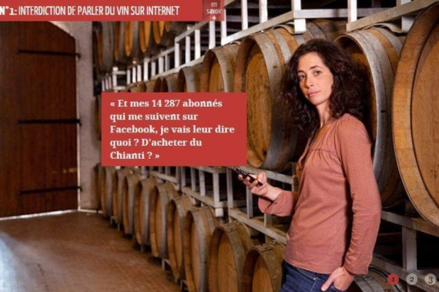 French Wines banned from Social Media? Is that a joke?
